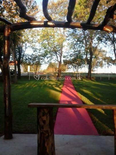 Altar para os noivos