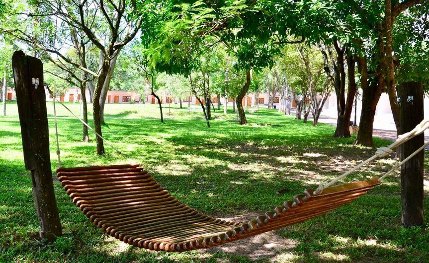 Area de descanso no hotel