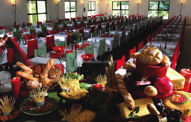 Restaurante para hospedes