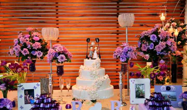 Mesa de bolo Lilas