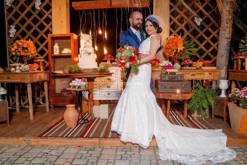 Patricia e Manoel Casamento