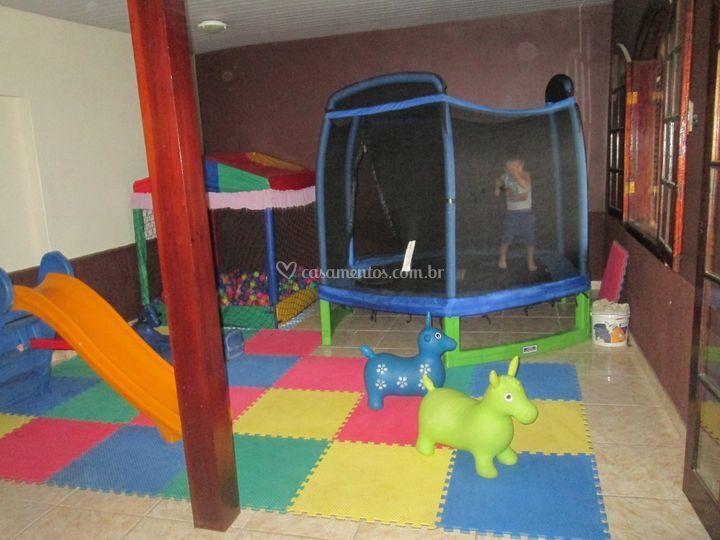 Área reservada para crianças