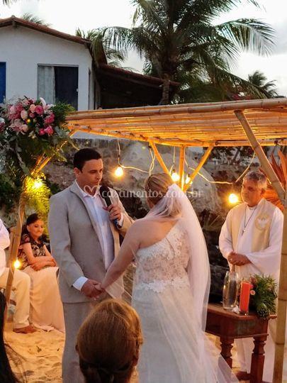 Casamento realizado em Natal
