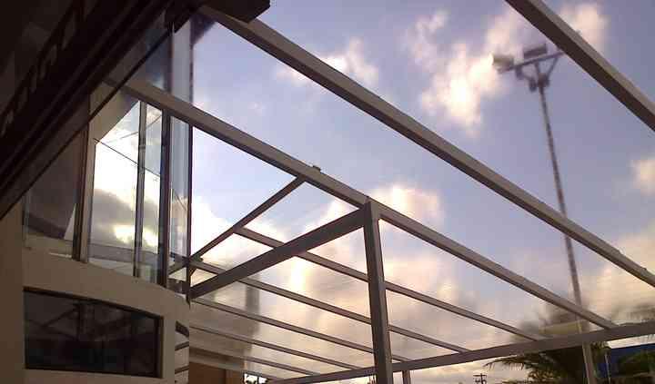 Cobertura cristal  transparent