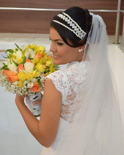 Saída da noiva do Dia de Noiva