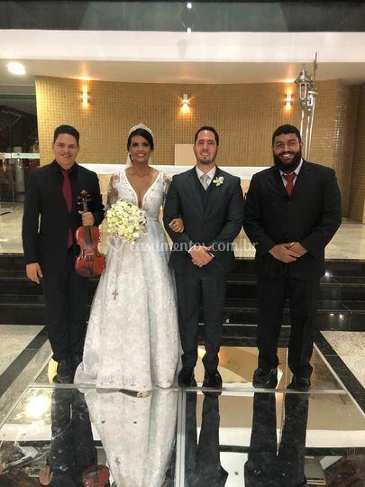 Cerimônia Mycaela e Rodrigo