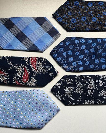 Coleção de gravatas