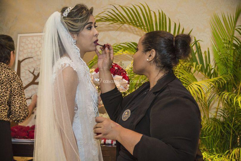Atenção especial para a noiva!