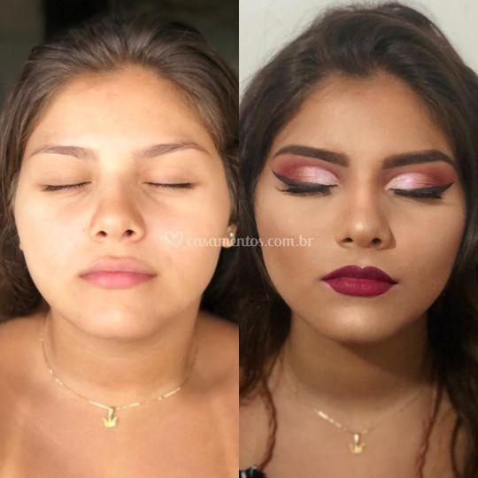 Antes e depois Formanda
