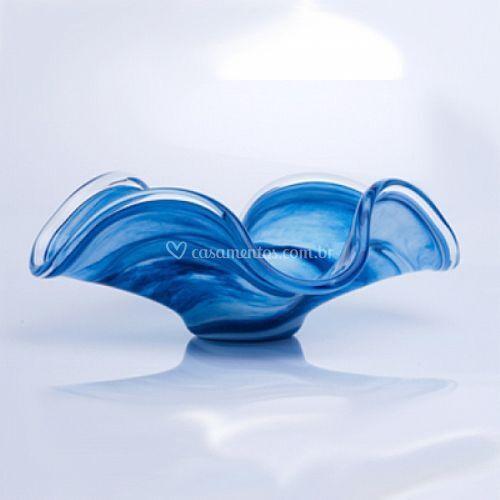 Centro de mesa veneza azul de MaisValdir