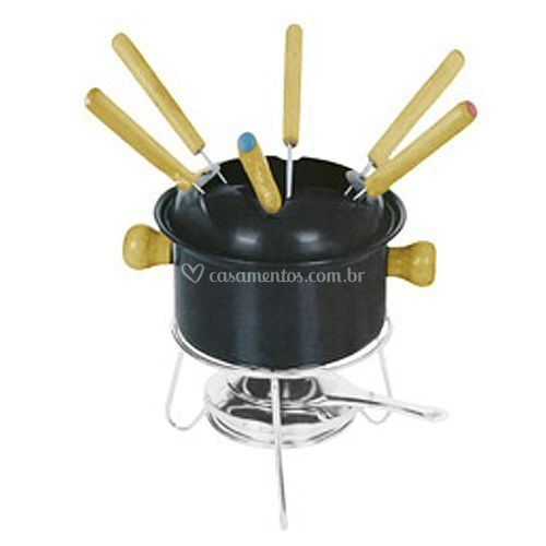 Conj. fondue 10 peças