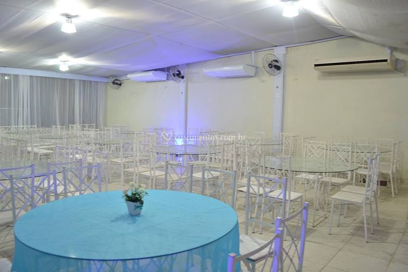 Foto do salão