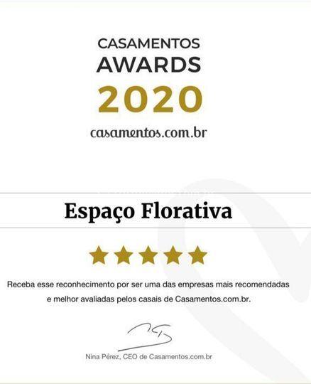 Premiação 2020