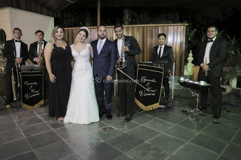 Casal Ana Claudia e Bruno