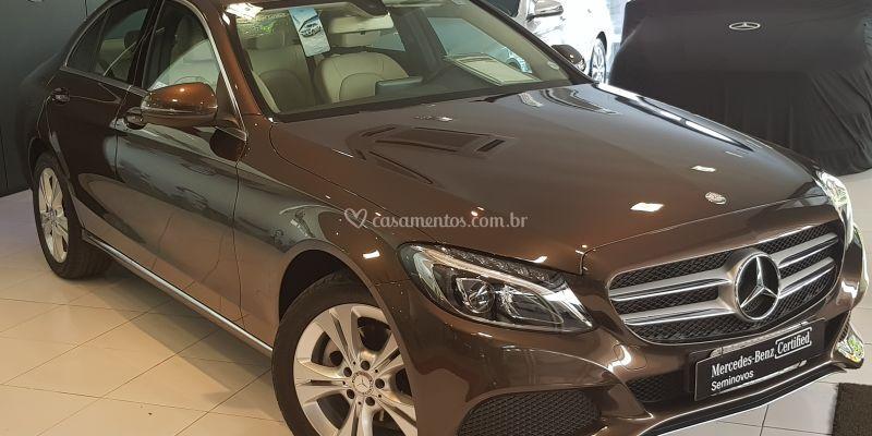 Mercedes-Benz C250 Marron