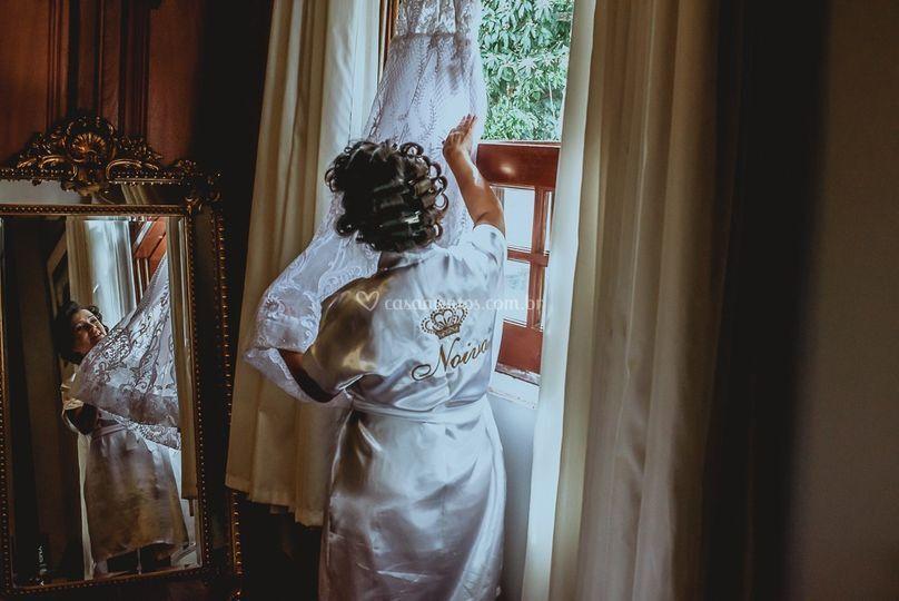 Dia da noiva em uma das suites