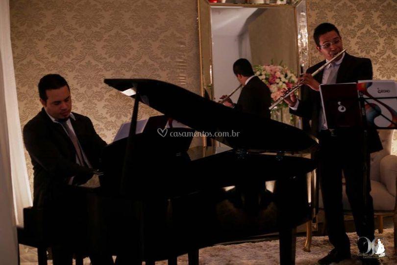 Recepção com Piano  e Flauta