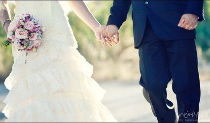 Casamento vintage de Sara e Javier