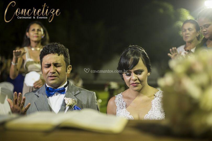 Casamento ao ar livre - ceará