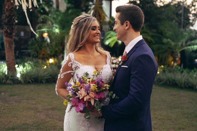 Marcio e Mariana - Casamento