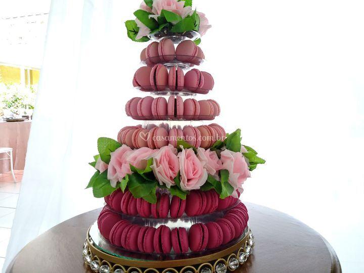 Torre Macarons e Bem Casados