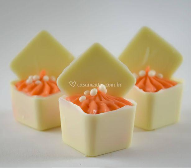 Quadradinho de melão