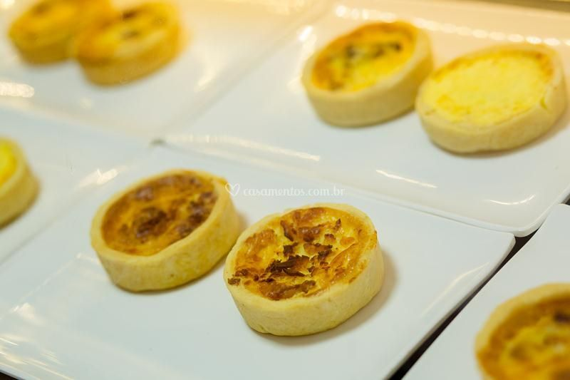 Quiches salgadas