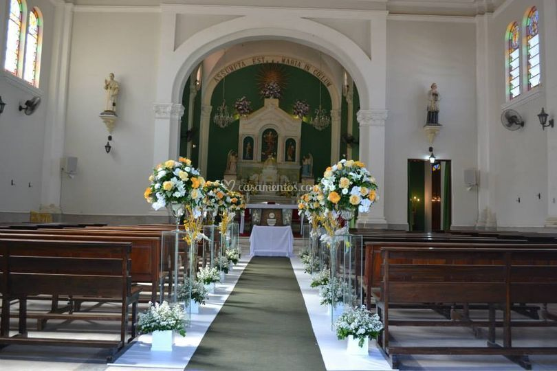 Igreja, antes cerimonia