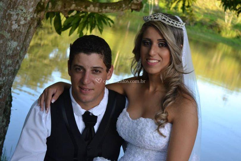 Fotos após o casamento