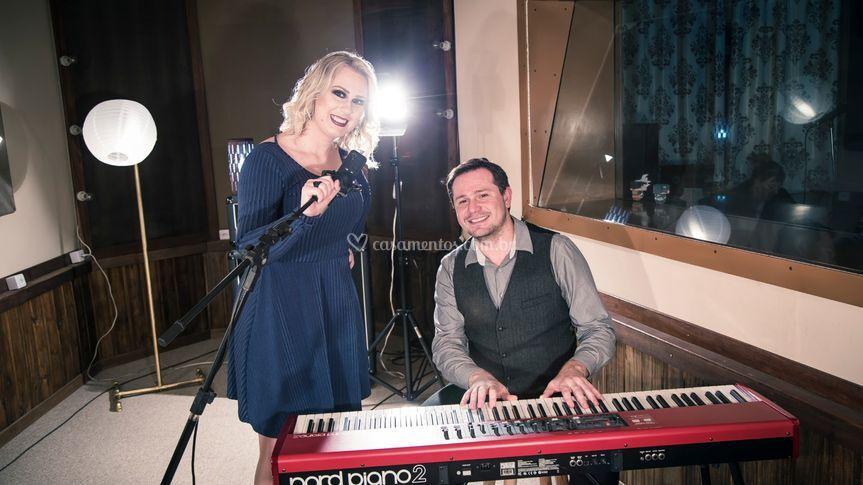 Duo voz e piano