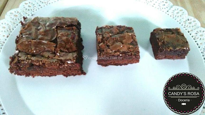 3 Tamanhos de Brownie