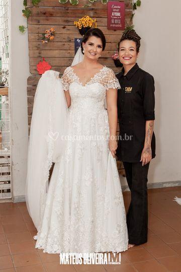 Noiva Mariana Nascimento