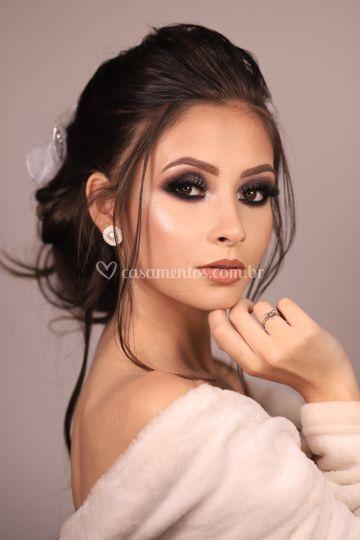 Maquiagem para noiva marcante