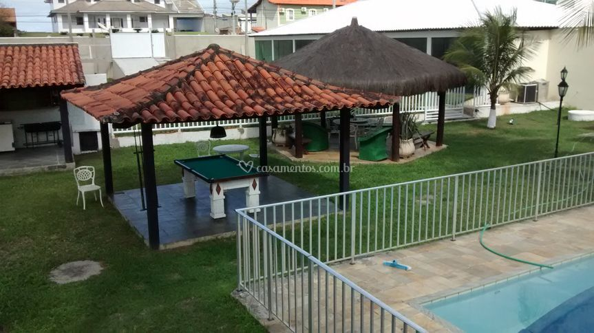 Piscina, Sinuca e Churrasqueir