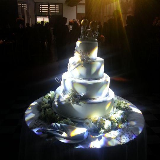 Destaque especial para o bolo