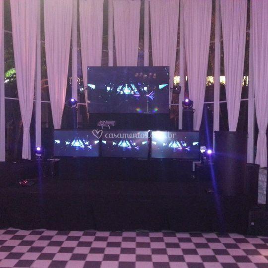 DJ, iIuminação, sonorização