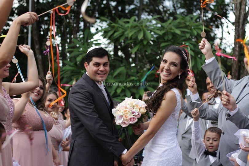 Alegre saida  - Wedding Wands