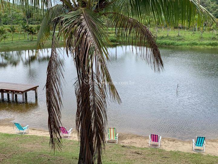 Praia gramada