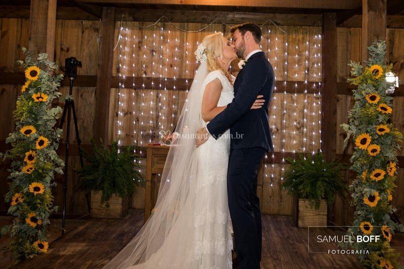 Casamento no nosso Celeiro