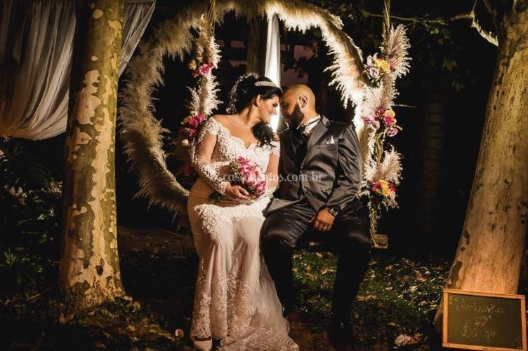 Nosso balanço para os noivos