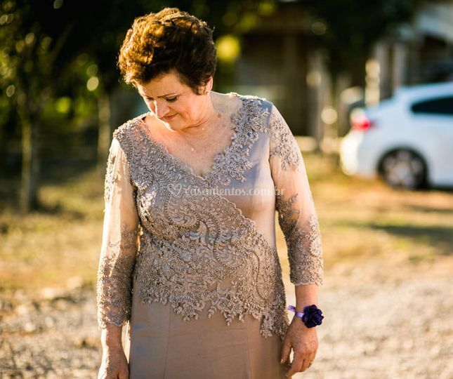 Marise Catafesta, mãe da noiva