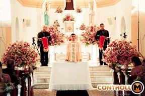 Aninciação no altar