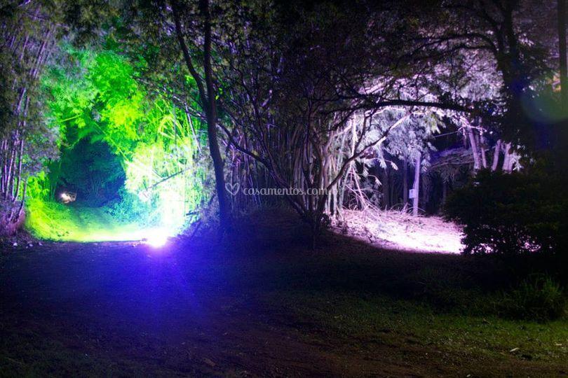 Iluminação exterior