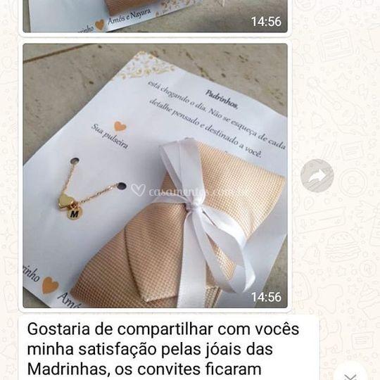 Pulseiras Madrinha