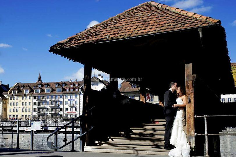 Cidade de Lucena na Suiça