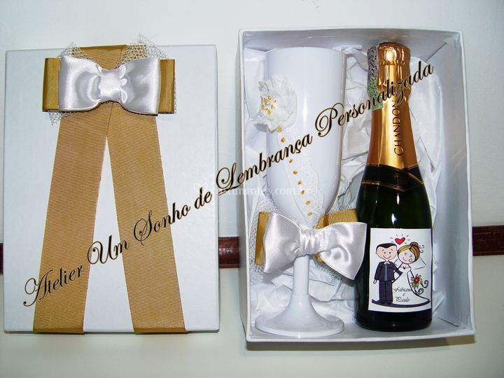 Kit 2 Chandon taça acrílica
