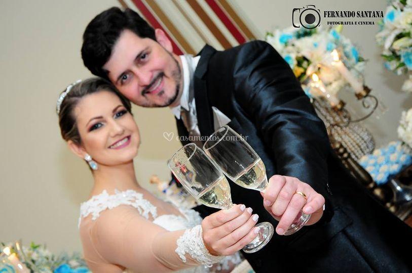 Casamento de suelen e rafael