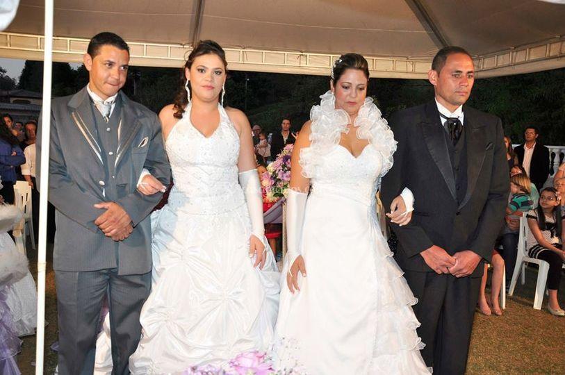 Casamento duplo em cajamar