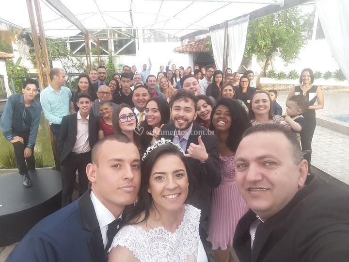 Primeira selfie - wm eventos