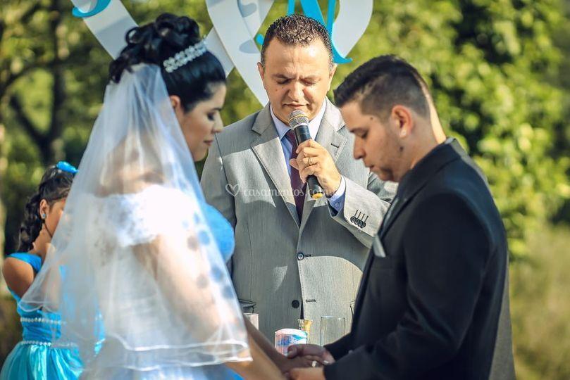 A benção pedida pelo casal